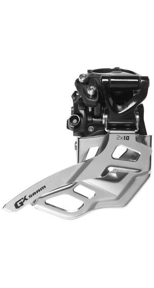 SRAM GX Umwerfer 2x10-fach High Clamp Bottom Pull 38/36 Zähne schwarz